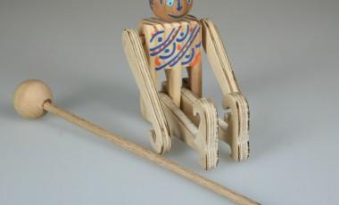 L'acrobate à Bâton en kit